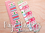 Retro Hugs | Page Markers | Christmas #4 | Personal Size