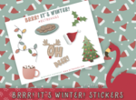 Brrr! It's Winter! | Sampler Sticker Sheet