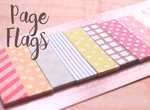 Cute Page Flags | Mini Sticky Notes | 8 Patterns