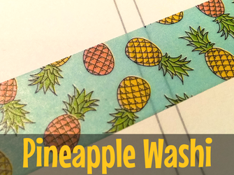 Pineapple Washi
