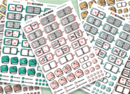I ♥ My Planner Stickers! I Love My Planner Stickers! (Preview)
