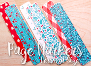 Retro Hugs | Page Markers | Christmas #3 | Personal Size