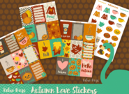 Autumn Love | Sticker Kit | 4 Sheets