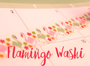 Flamingo Washi Tape #2